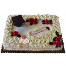 Golose torte dalle raffinate decorazioni per chi ha for Decorazioni per torte di laurea